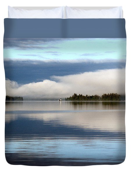 Lake Cobb'see Duvet Cover by Dana Patterson