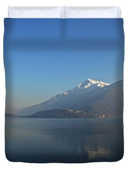 Lake Como Duvet Cover