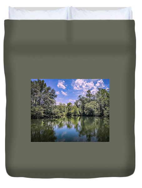 Lake Cove Duvet Cover