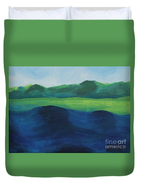 Lake Day Duvet Cover
