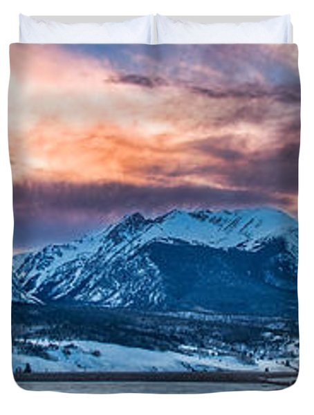 Lake Dillon Duvet Cover