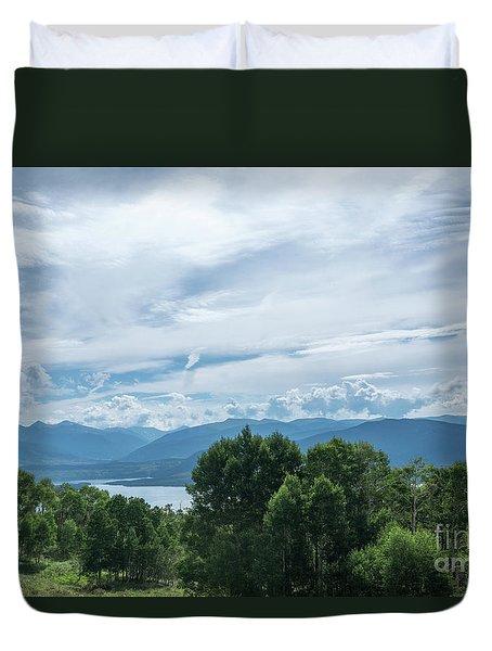 Lake Dillon Duvet Cover