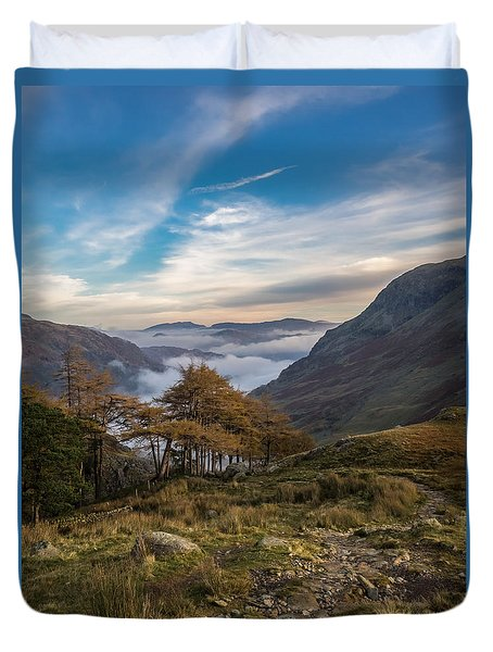 Lake District Views Duvet Cover