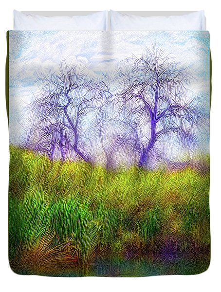 Lake Dream Peace Duvet Cover