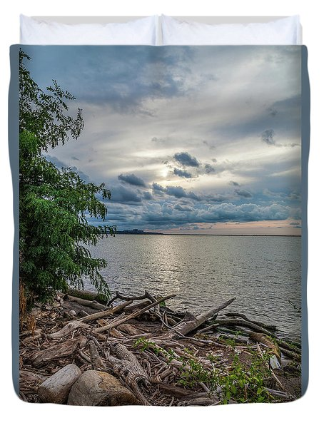 Lake Erie Serenade Duvet Cover