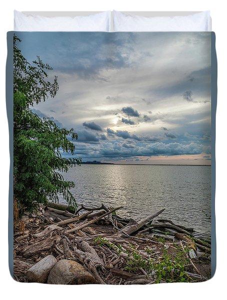 Lake Erie Serenade Duvet Cover