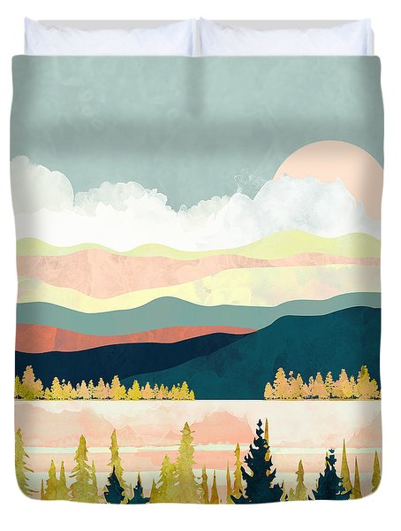 Lake Forest Duvet Cover