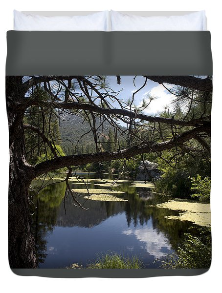 Lake Fulmor Duvet Cover by Ivete Basso Photography
