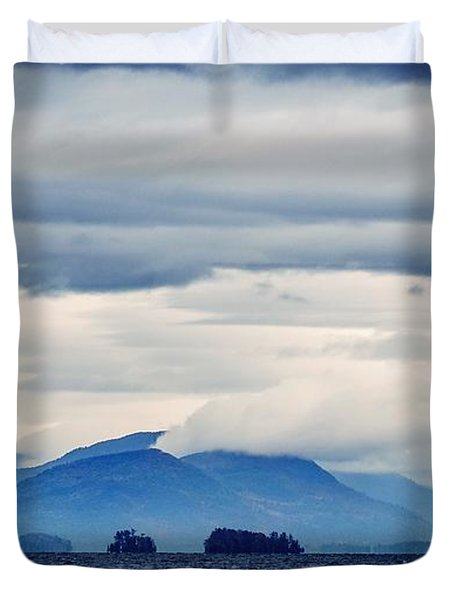 Lake George Is The Queen Of American Lakes Duvet Cover