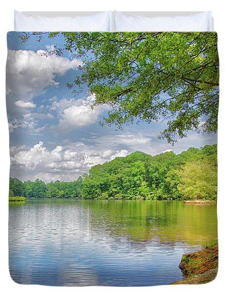Lake Haigler 2014 01 Duvet Cover