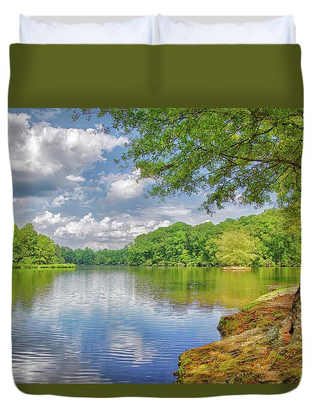 Lake Haigler 2014 01 Duvet Cover