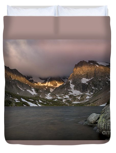 Duvet Cover featuring the photograph Lake Isabel by Keith Kapple
