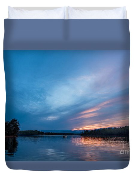 Lake James Portal Duvet Cover