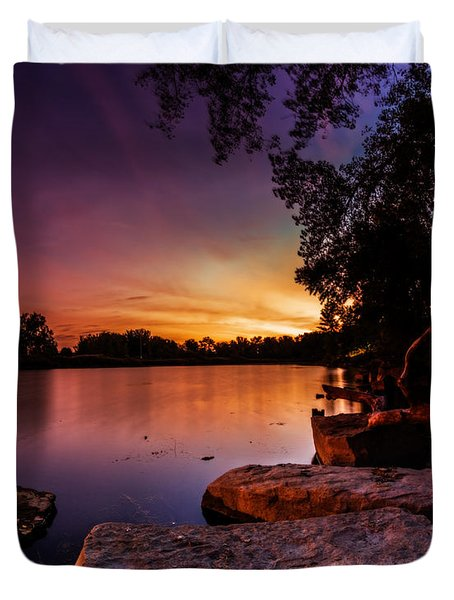 Lake Kirsty Twilight Duvet Cover