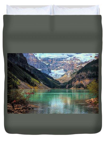 Lake Louise - Canadian Rockies  Duvet Cover