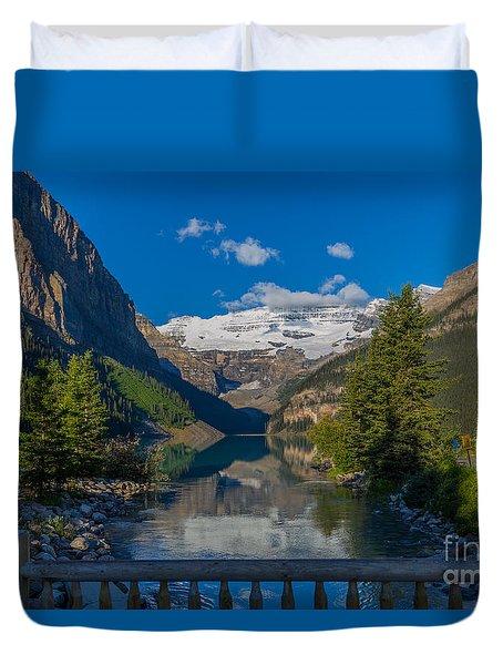 Lake Louise Morning Duvet Cover