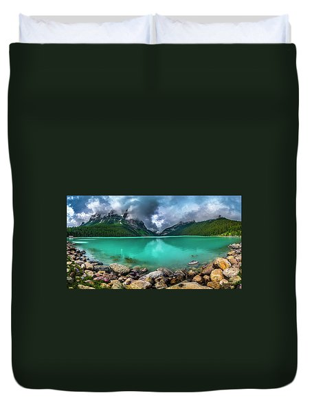 Lake Louise Duvet Cover by Patrick Boening