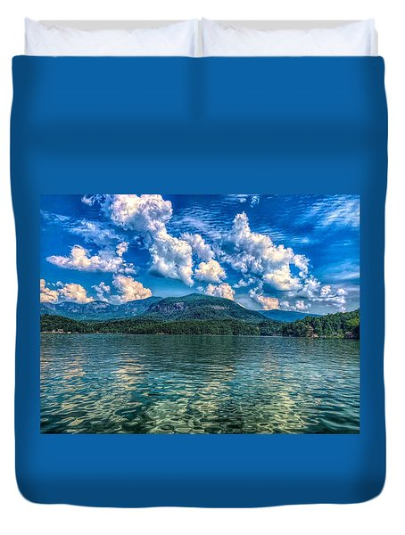 Lake Lure Beauty Duvet Cover