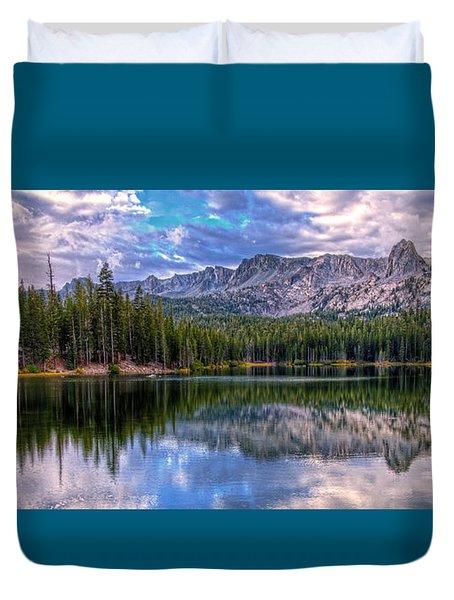 Lake Mamie Panorama Duvet Cover