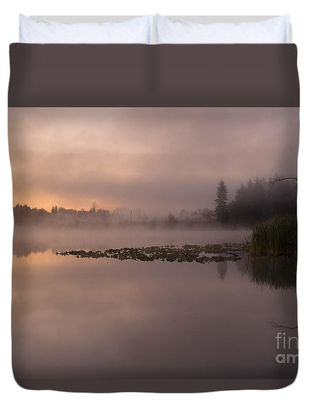 Lake Marsh Duvet Cover