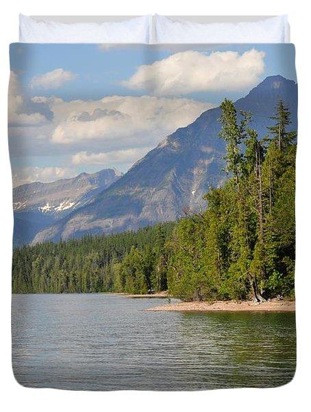 Lake Mcdonald Duvet Cover by D Nigon