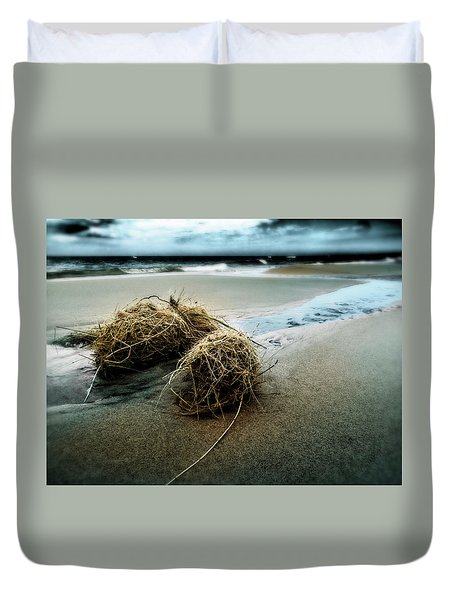 Lake Michigan Tumbleweed Duvet Cover