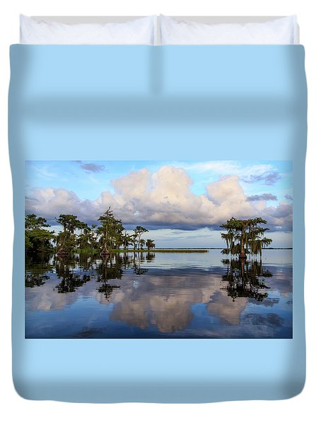 Lake Mirror Duvet Cover