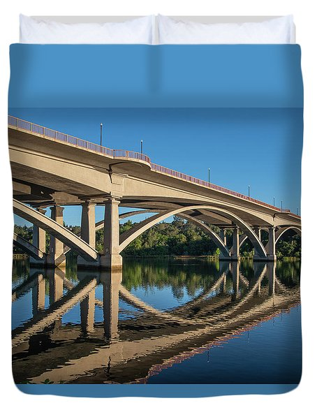 Lake Natoma Crossing Duvet Cover