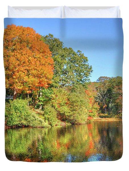 Lake Noquochoke, Dartmouth, Ma Duvet Cover