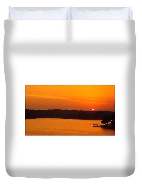 Lake Of The Ozarks 1 Duvet Cover