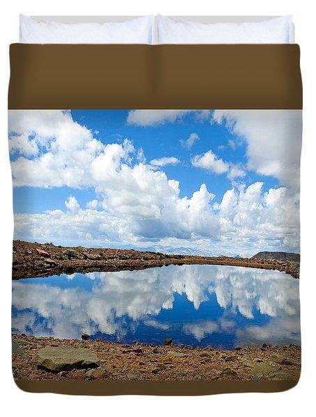 Lake Of The Sky Duvet Cover