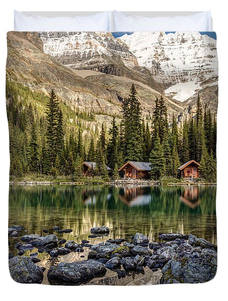 Lake O'hara Lodge Duvet Cover