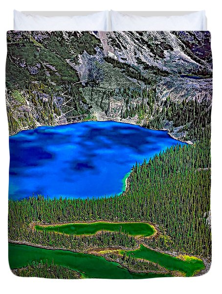 Lake O'hara Duvet Cover by Steve Harrington