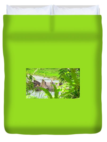 Lake Overflow Duvet Cover