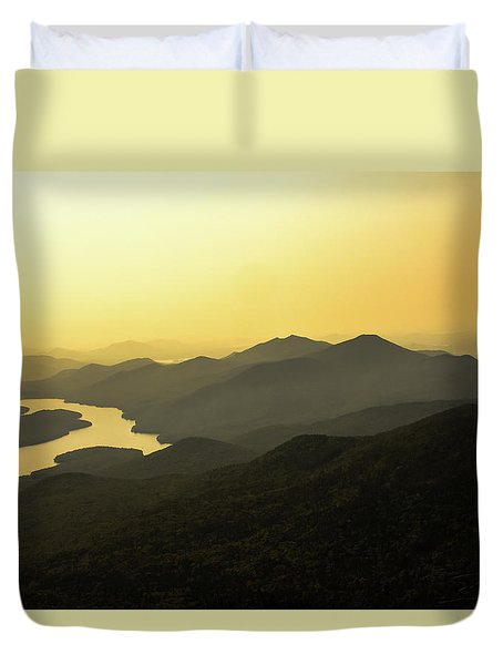 Lake Placid Duvet Cover