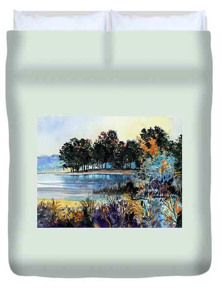 Lake Point Duvet Cover
