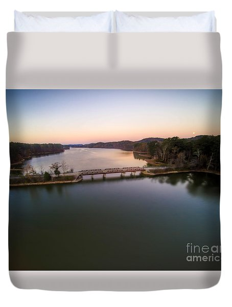 Lake Purdy At Grants Mill Duvet Cover