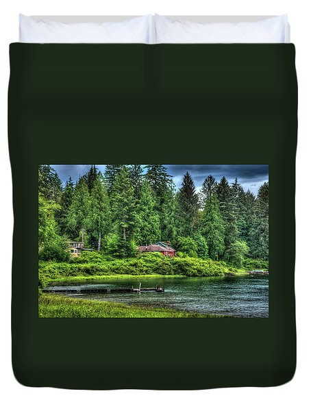Lake Quinault 3 Duvet Cover