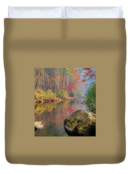 Chattooga Paradise Duvet Cover