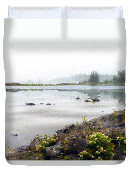 Lake Superior Duvet Cover