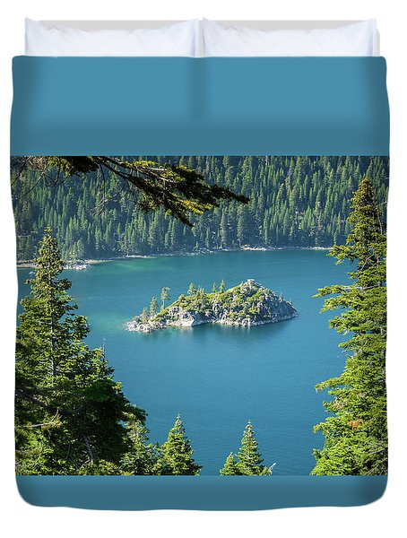 Duvet Cover featuring the photograph Lake Tahoe by RC Pics