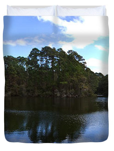 Lake Thomas Hilton Head Duvet Cover