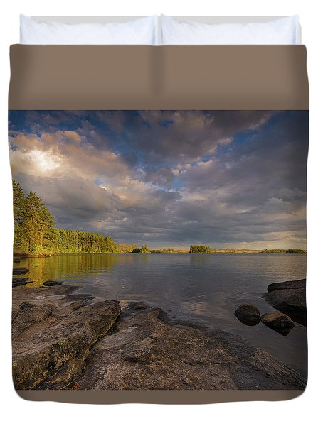 Lake Three Duvet Cover