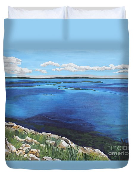 Lake Toho Duvet Cover
