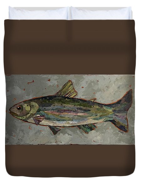 Lake Trout Duvet Cover