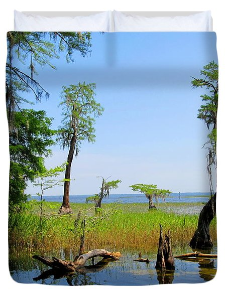 Lake Waccamaw Nc Duvet Cover