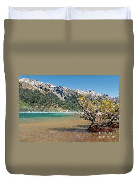Lake Wakatipu Duvet Cover by Werner Padarin