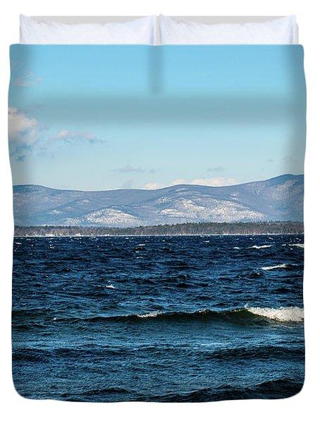 Lake Winnipesaukee Duvet Cover