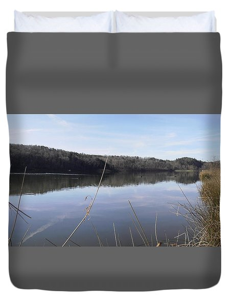 Lake Zwerner Early Spring Duvet Cover