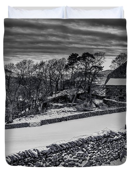 Lakeland Barn Duvet Cover by Keith Elliott